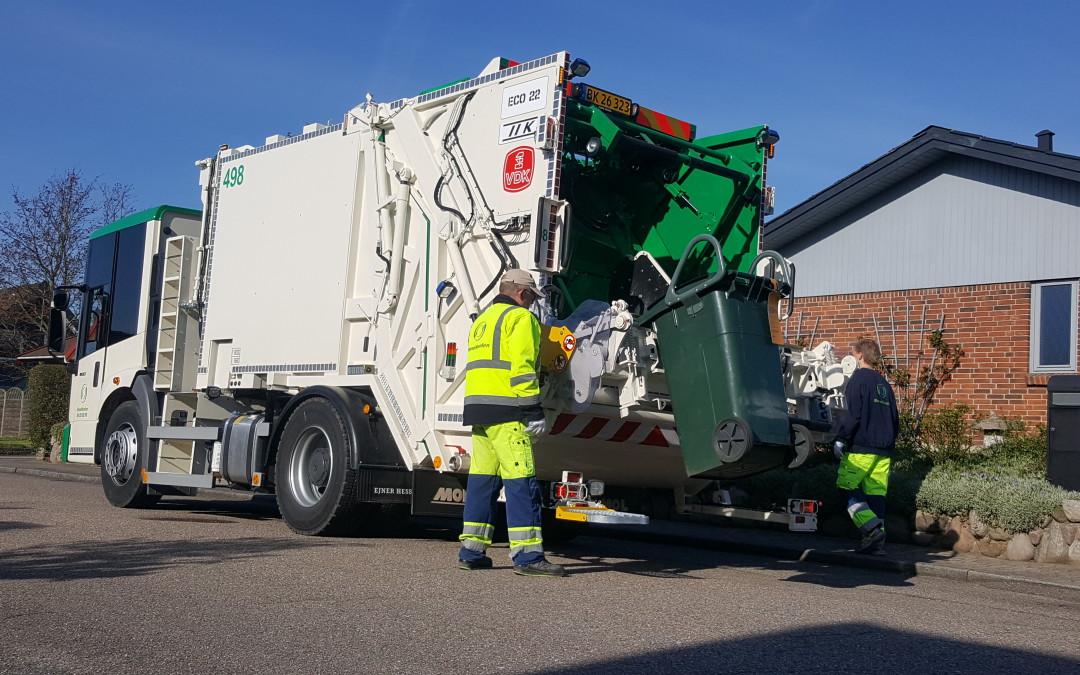 First VDK truck in Denmark.