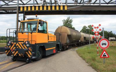 100st Rail Route geleverd