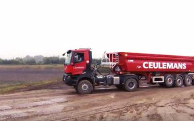 MOL QUADRAT + Renault K attirent l'attention chez notre client Ceulemans